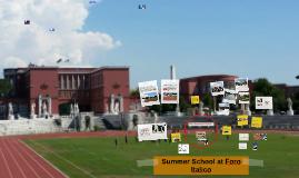 Summer School at Foro Italico