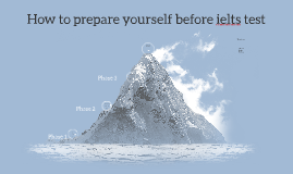 How to prepare yourself before ielts teast