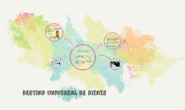 Destino universal de bienes
