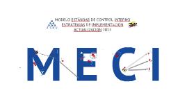 MECI Estrategias de Implementación - Actualización 2014