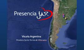 Presencia JAR - Argentina