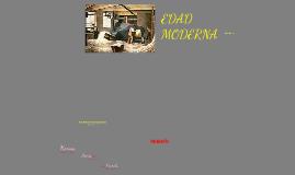 Evolución de las Organizaciones (Edad Moderna)