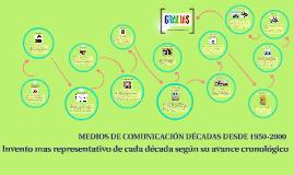 Copy of MEDIOS DE COMUNICACIÓN DÉCADAS DESDE 1950-2020