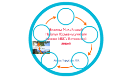 Визитка Михайловой Натальи Юрьевны,учителя физики МбОУ Вотки
