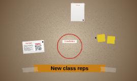Choosing new class reps