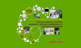 Centar za pomoć i podršku osobama  i njihovim porodicama sa mentalnim teškoćama