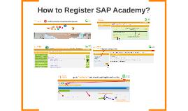 How to Register SAP Academy?