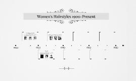 Women's Hairstyles 1900-Present
