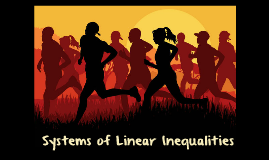 4.3 Systems of Linear Inequalities