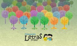 Árbol de la Imaginación - Programa Letras Prima