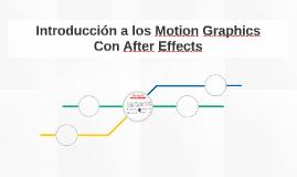 Introducción a los Motion Graphics