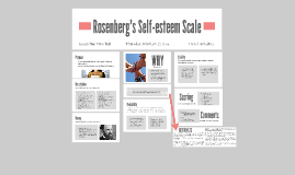 Rosenberg's Self-esteem Scale