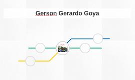 Gerson Gerardo Goya