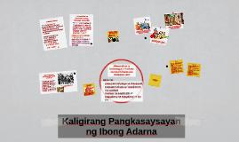 Copy of Kaligang Pangkasaysayan ng Ibong Adarna