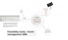 Copy of Copy of Feasibility study - Event management SME