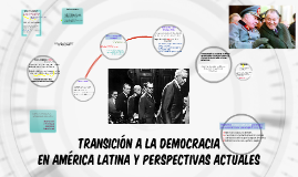 Democratización en AL y embestida neoliberal