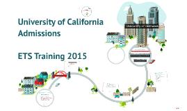 Copy of University of California