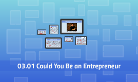 03.01 Could You Be an Entrepreneur