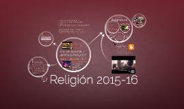 Presentación Asignatura: Religión 2015-16