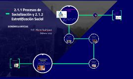 Copy of Procesos de Socialización