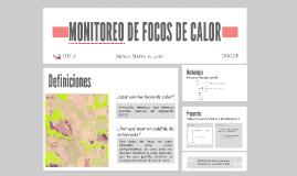 MONITOREO DE FOCOS DE CALOR