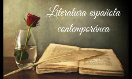 Copy of literatura española contemporanea