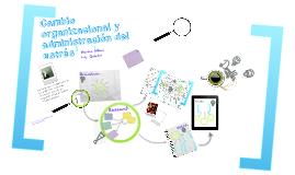 Copy of CAMBIO ORGANIZACIONAL Y ADMINISTRACIÓN DEL ESTRÉS