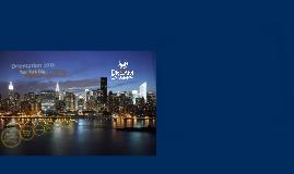 New York Orientation 2018