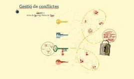 Copy of Curs de Gestió de conflictes per a Jefes de Secció y Torn