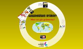 Subsahariska Afrika