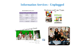 Information services unplugged