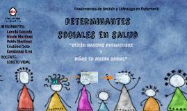 DETERMINATES SOCIALES EN SALUD Prematuro y riesgo