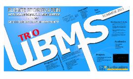 UBMS : Summer 2013 Orientation