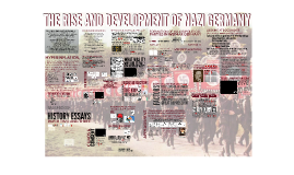 THE RISE AND DEVELOPEMENT OF NAZI GERMANY
