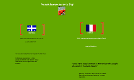 French Remembrance Day