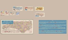 Interactive North Carolina History: County Formation Time Map 1664-1911