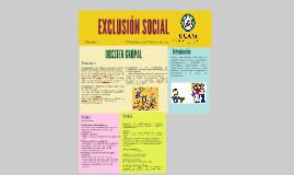 Copy of EXCLUSIÓN SOCIAL