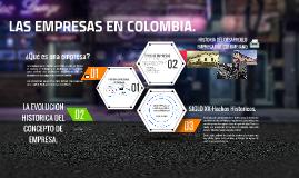 Las empresas en colombia