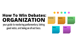 How To Win Debates