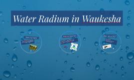 Water Radium in Waukesha