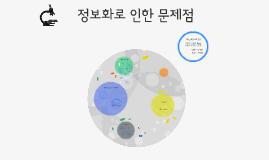 Copy of  정보화 사회의 문제점