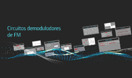 Circuitos demoduladores de FM