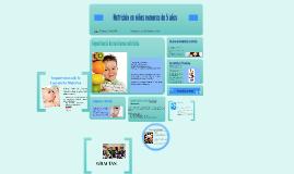 Nutrición en niños menores de 5 años