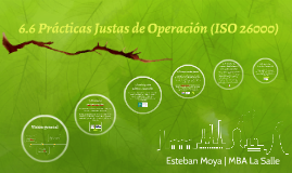 6.6 Fair operating practices (ISO 26000)