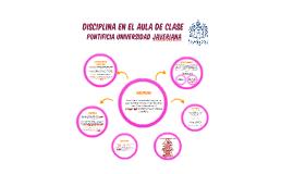 DISCIPLINA EN EL AULA DE CLASE