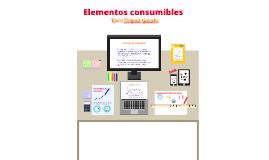 Elementos consumibles