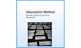Absorption Method