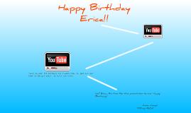 Happy Birthday Erica!