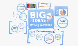 Fall 2018 Writing Workshop