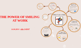 THE POWER OF SMILING AT WORK
